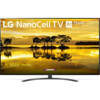 "LG SM9070 75"" Smart Nano Cell IPS LED TV 75SM9070PUA - $1299"