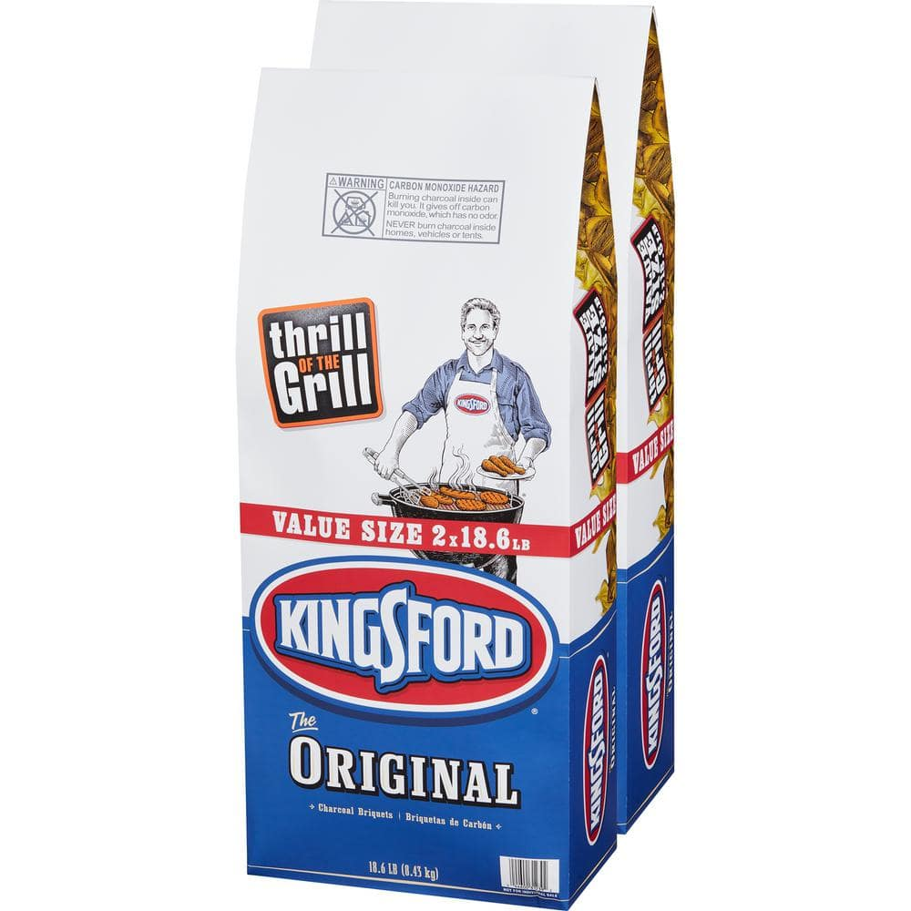 Home Depot - Kingsford 18.6 lbs. Charcoal Briquettes (2-Bag) - $9.88 in store
