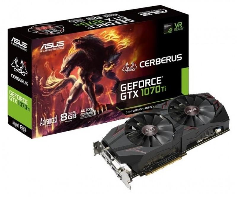 ASUS Cerberus GeForce GTX 1070 Ti $359.99