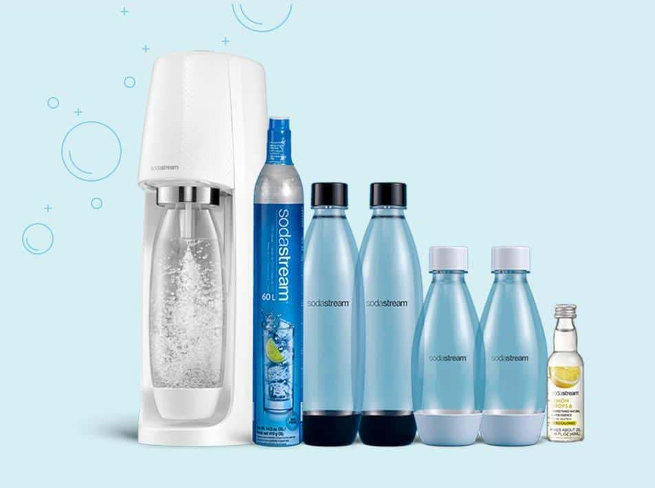 Sodastream Fizziest Hydration Pack Sale + 15% Off + FREE Shipping $102