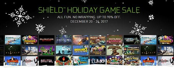 Shield Holiday Game Sale up to 90% off Android Games and GeForce NOW Games