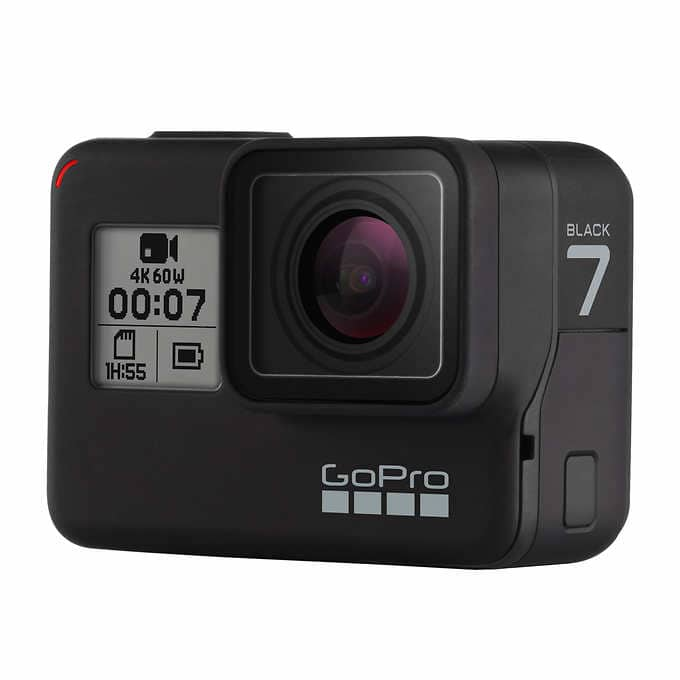 Costco Members: GoPro HERO7 Black Action Camera Bundle $319.99 + FS $320