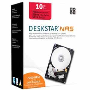 """10TB HGST Deskstar NAS 3.5"""" Int Hard Drive $267"""