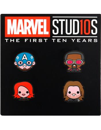 Disney Movie Rewards Marvel Studios 10th Anniversary Emoji Pin Set #2 500 points DMR