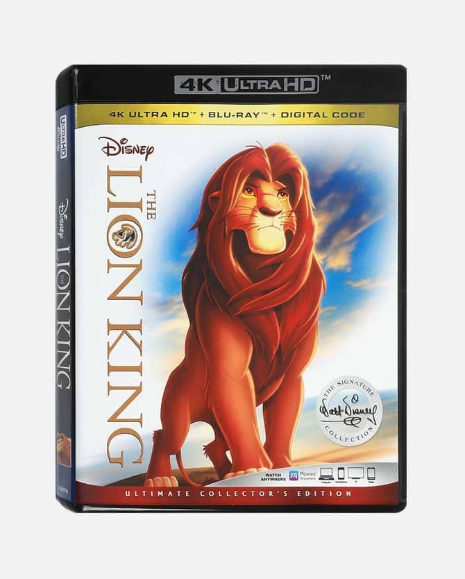 Disney Movie Rewards Insiders 10 FREE points + New Rewards : 4k Lion King 1250 pts ; Wreck It Ralph 4k 1500 pts