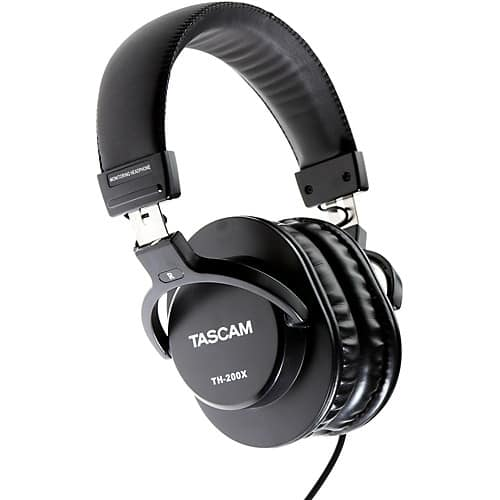 Tascam TH-200X Studio Headphones $19.99 w/ Free Shipping TODAY ONLY 10/29 @ MusiciansFriend ($79 @ Amazon)
