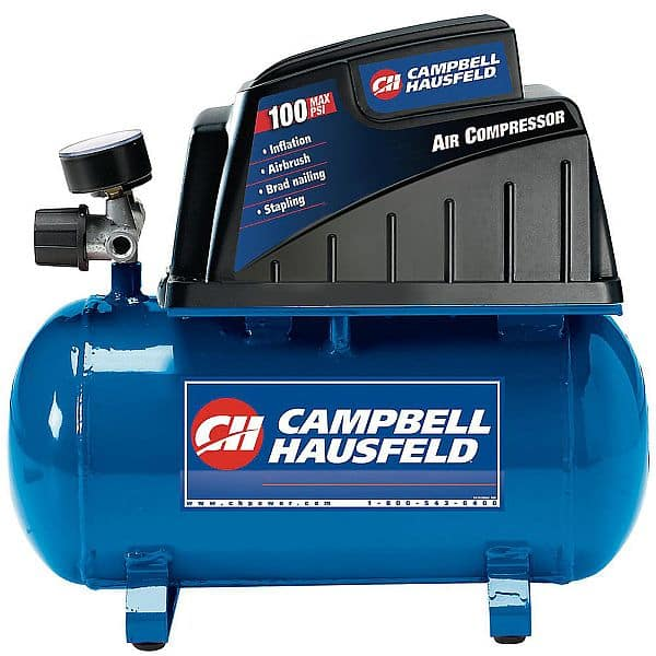 Half Off - Campbell Hausfeld 2 Gallon Air Compressor with Accessories $39.92 + $5.98 SWR Points W/Free Shipping or Free In-Store PU @ Sears Reg. $89.99