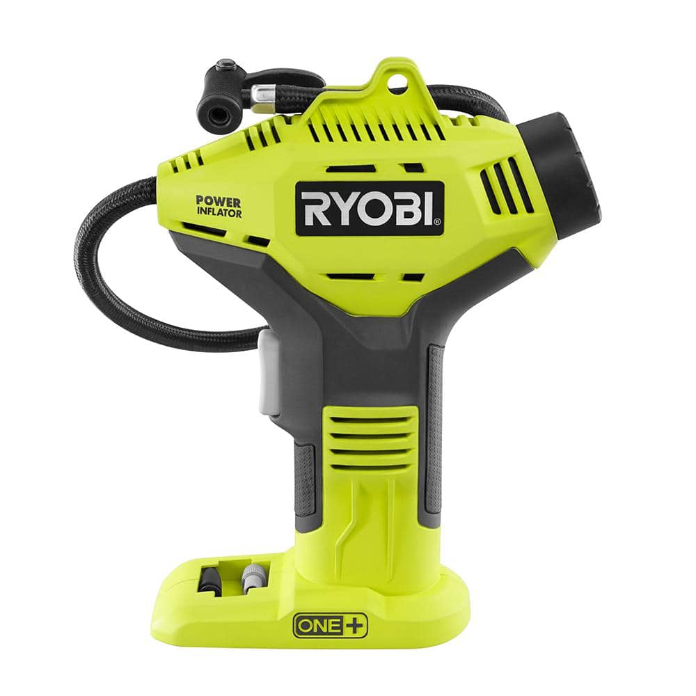 RYOBI 18-Volt ONE+ Cordless Power Inflator (Tool-Only) $7.50 YMMV - Clearance @ Home Depot