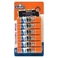 Target Deal: Elmer's Washable Disappearing Purple Glue Sticks, 0.21 Ounce Each, 6 Packs, $0.99