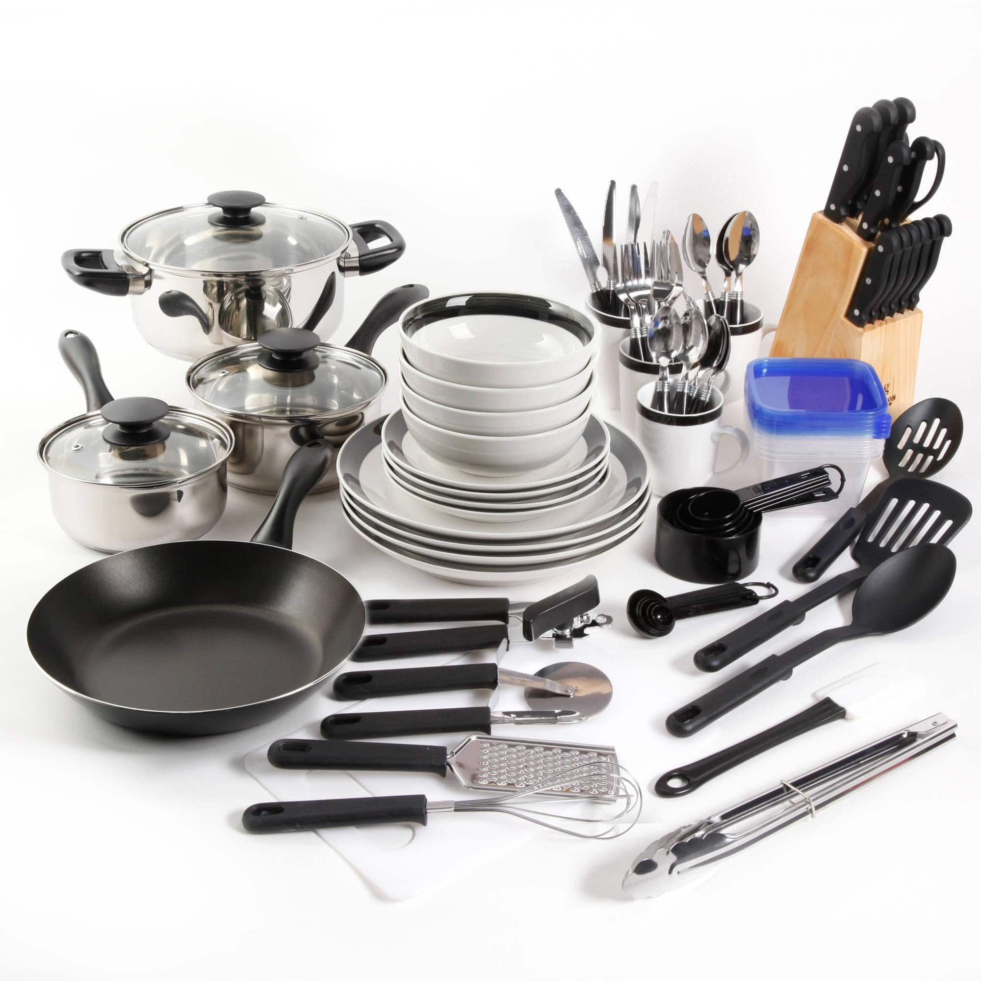 Gibson Home Essential Total Kitchen 83-Piece Combo Set $54.99