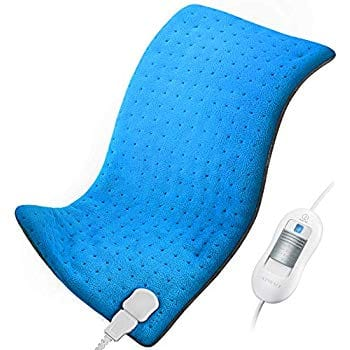 Heating Pad for Back Pain and Cramps Relief $18+FS w/Prime
