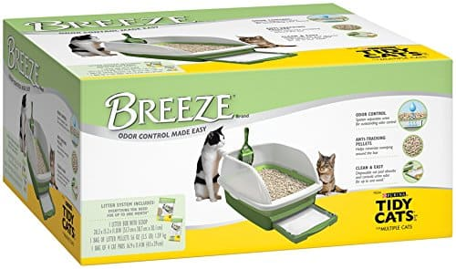 Tidy Cats Breeze Cat Litter Box Kit $18.64 or less @ Amazon