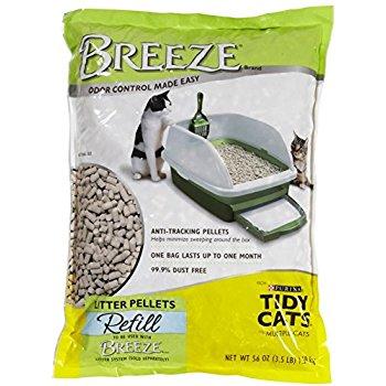 Purina Tidy Cats Breeze Litter System Cat Pellet Refills 3.5 lb pk of 6 - $37 @ Amazon