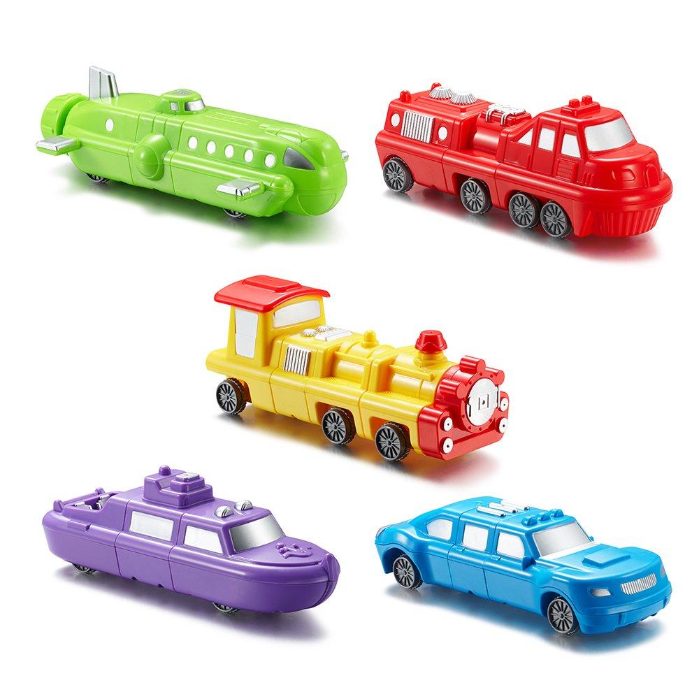 Superior Imagination Magnetic Play Vehicles Custom Mix Building Blocks Kit $11.99