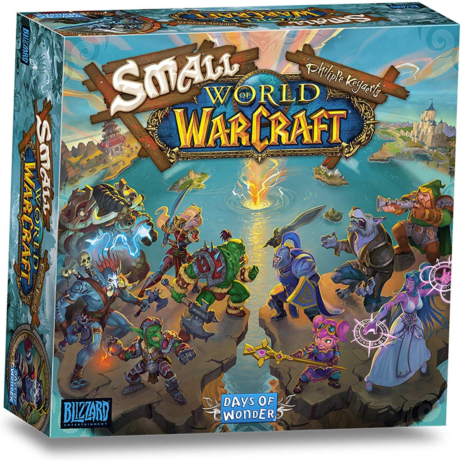 Small World of Warcraft Board Game - $28.78 at Woot