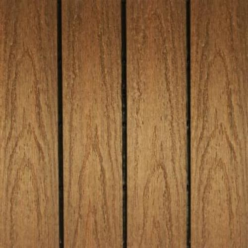 NewTechWood UltraShield Naturale 1 ft. x 1 ft. Quick Deck Outdoor Composite Deck Tile in Peruvian Teak (10 sq. ft. Per Box) 20% OFF $43.18