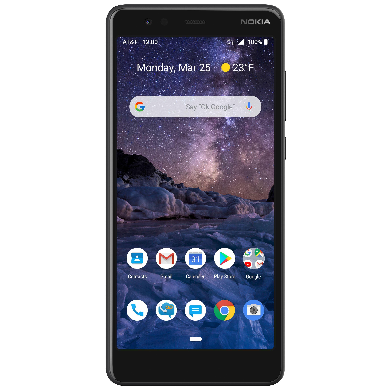 Nokia 3.1 A 2GB/32GB AT&T Prepaid Smartphone - Walmart B&M YMMV $19