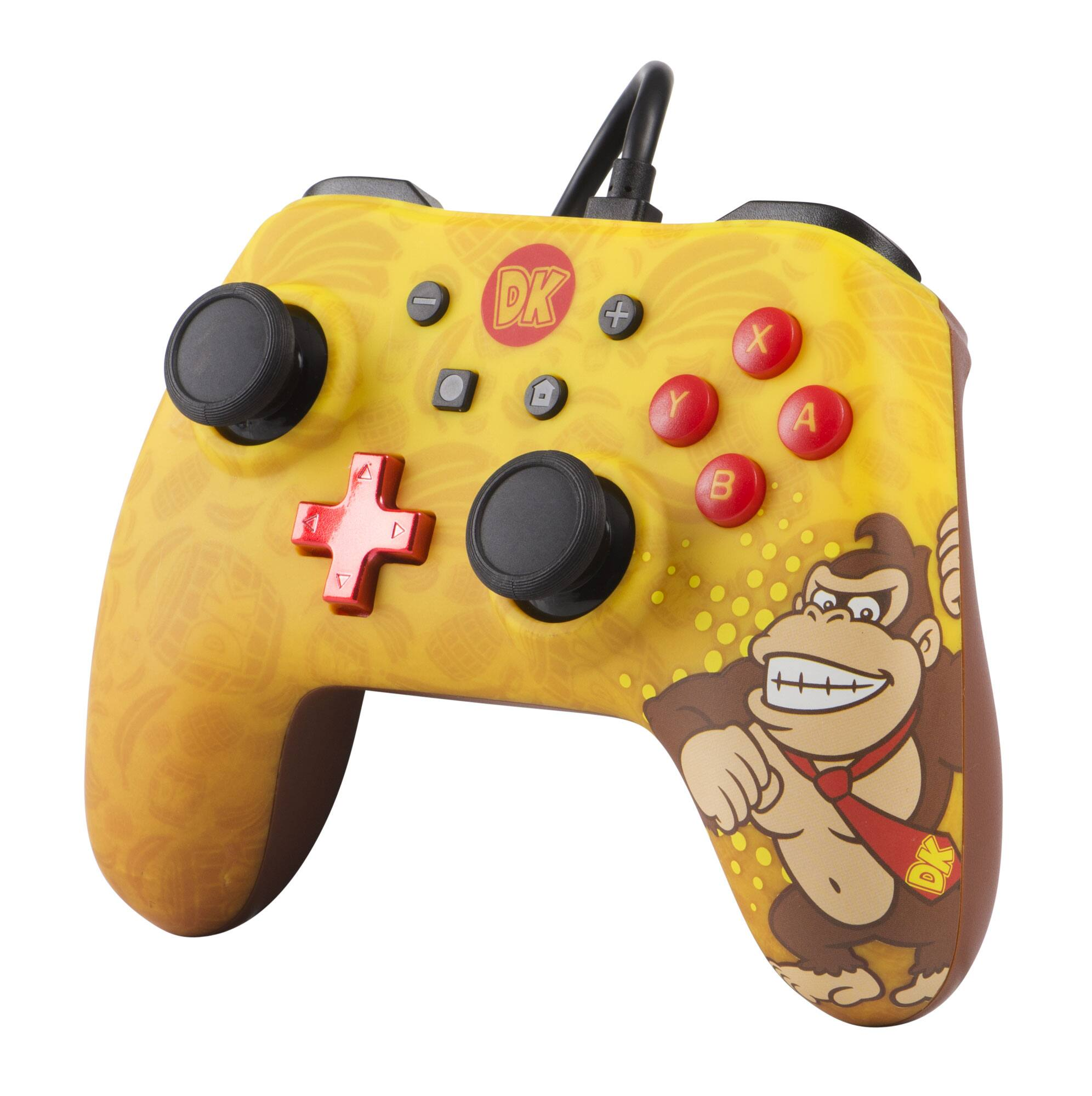 PowerA Wired Controller for Nintendo Switch – Donkey Kong (1506258-01) - 5$