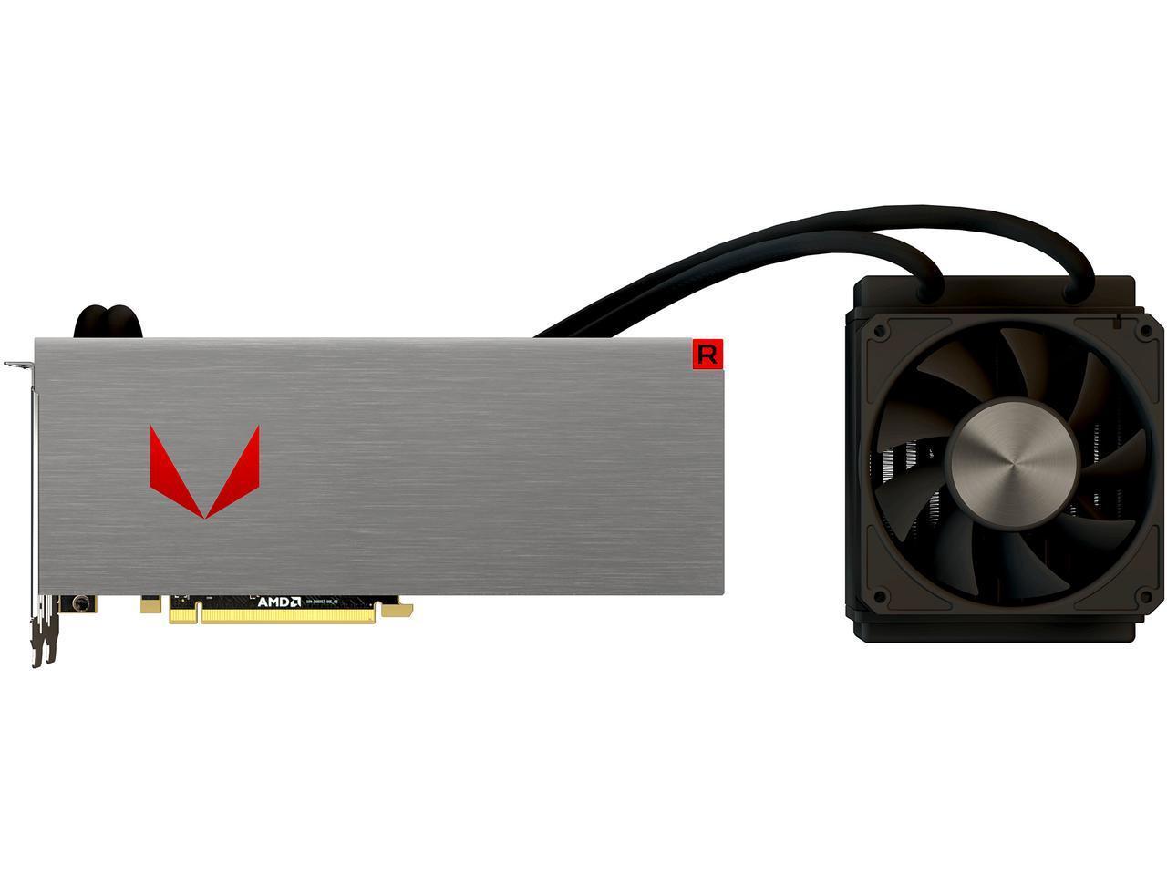 Liquid Cooled PowerColor Radeon RX Vega 64 8GB HBM2 Video Card + 3-Game Preorder Gift $499.99+FS