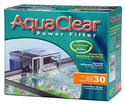 AquaClear CycleGuard Fish Tank Power Filter $28.04 w/ S&S + Free S/H