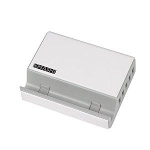 5-Port USB Charging Station 50W 10A, Desktop Charging Dock $9.99 AC @ Amazon