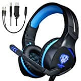 Gaming Headset for PS4 Xbox One with Mic Over Ear Headphone High Performance Stereo Sound with Bass $15.92