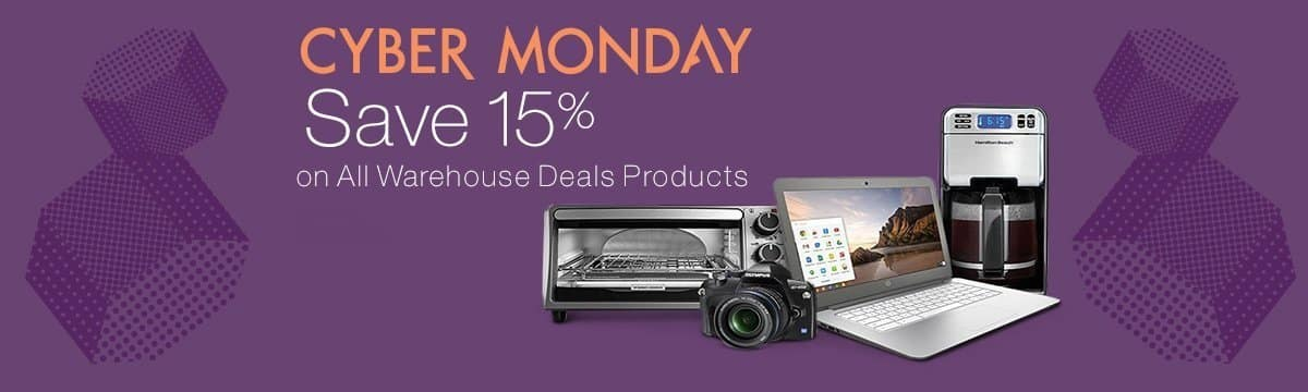 Amazon Warehouse Deals: Used/Open Box Cameras, Appliances, Electronics 15% Off & More