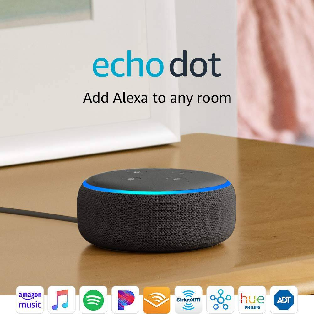 Echo Dot (3rd Gen) Buy 3, and save $80 off original price $69.97