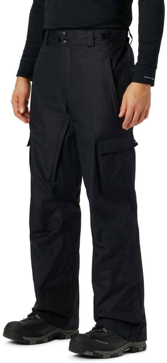 Columbia Ridge Run Men's Snow Pants (Black, Size Small) $24