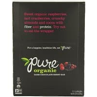 Amazon Deal: Pure Organic Raw Fruit & Nut Bars - Dark Chocolate Berry (Pack of 12) - As low as $9.48