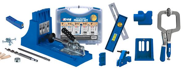 Lowe's [YMMV] Kreg K4 master system pocket hole jig + Free SK03 Screw Kit + Free Multi-mark + Free Kreg Jig Mini for $99 (as low as $80)