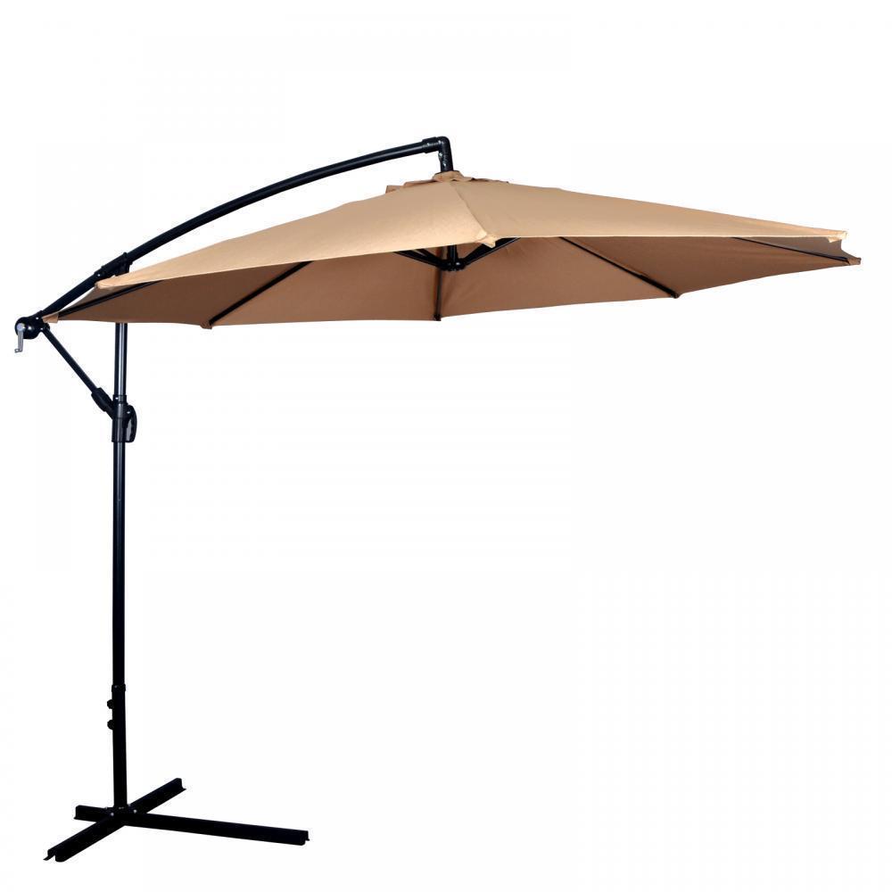 New 10' Patio Umbrella Offset Hanging Umbrella 39.99 shipped