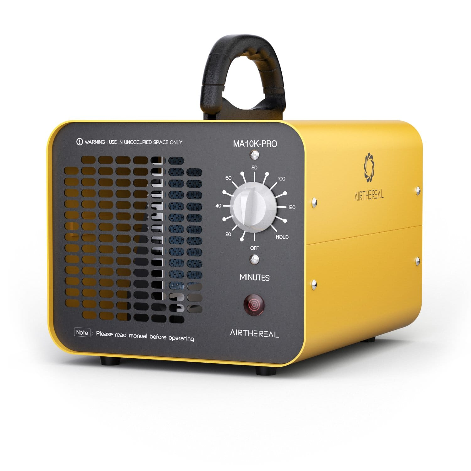 Airthereal MA10K-PRO Industrial Ozone Generator 10,000 mg/h High Capacity O3 Machine Air Cleaner for Large Rooms Yellow $71.49+FS