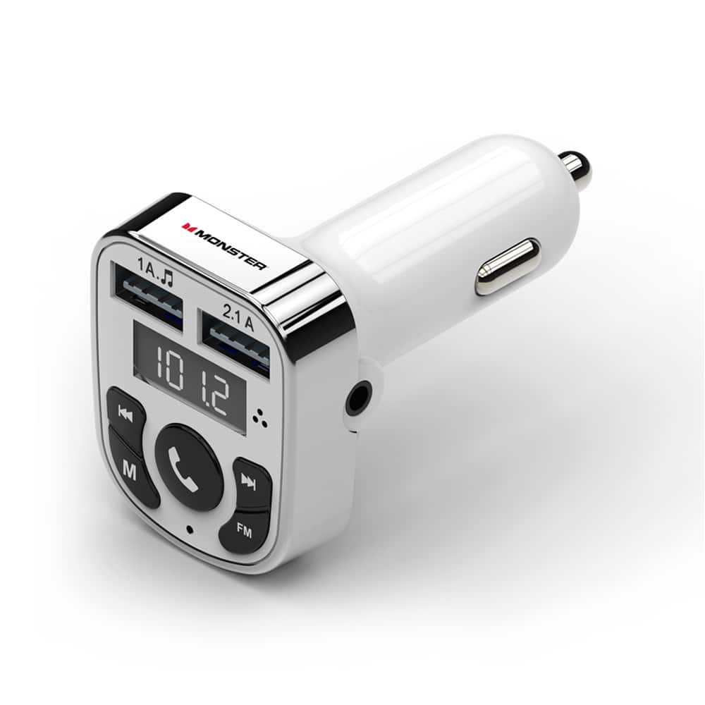Monster Bluetooth Fm Transmitter Car Charger 1 Or 3 988 Ymmv Making 04 W
