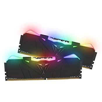 Patriot Viper RGB Series 32GB (2 x 16GB) 3600MHz kit w/Black heatshield $139.99