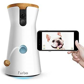 Amazon Furbo Dog Monitor (1080p wide angle camera, Wifi, and Treat Dispenser) $169 + tax $179.14