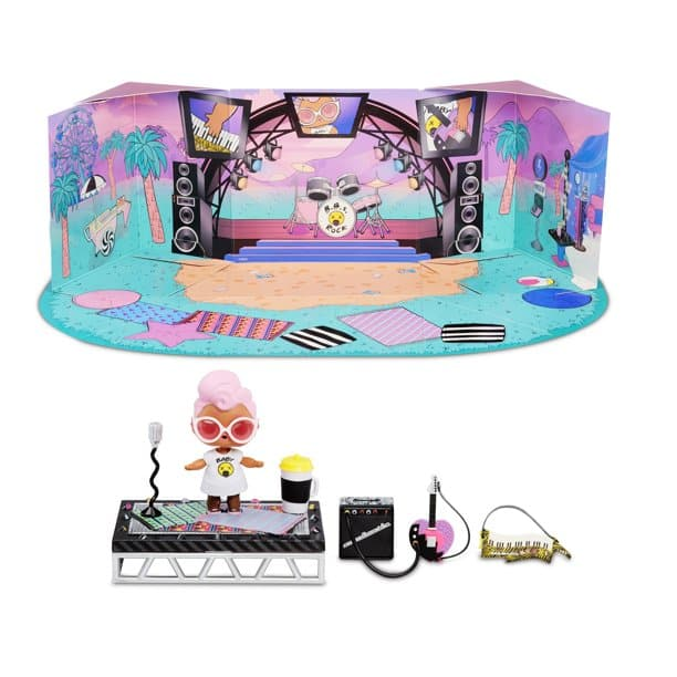 LOL Surprise Furniture Music Festival with Grunge Grrrl $7.49 (& more) + Free Shipping w/ Walmart+ or Orders $35+