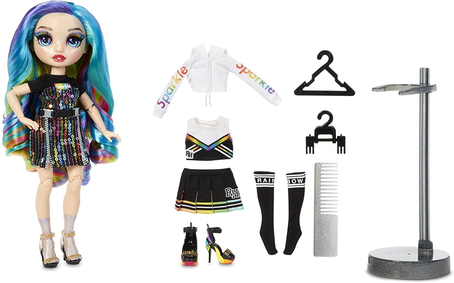 Rainbow High Ruby Anderson - Red Clothes Fashion Doll with two outfits ($10.94) FS with Amazon prime or orders $25+ (or Poppy Rowan at WalMart)
