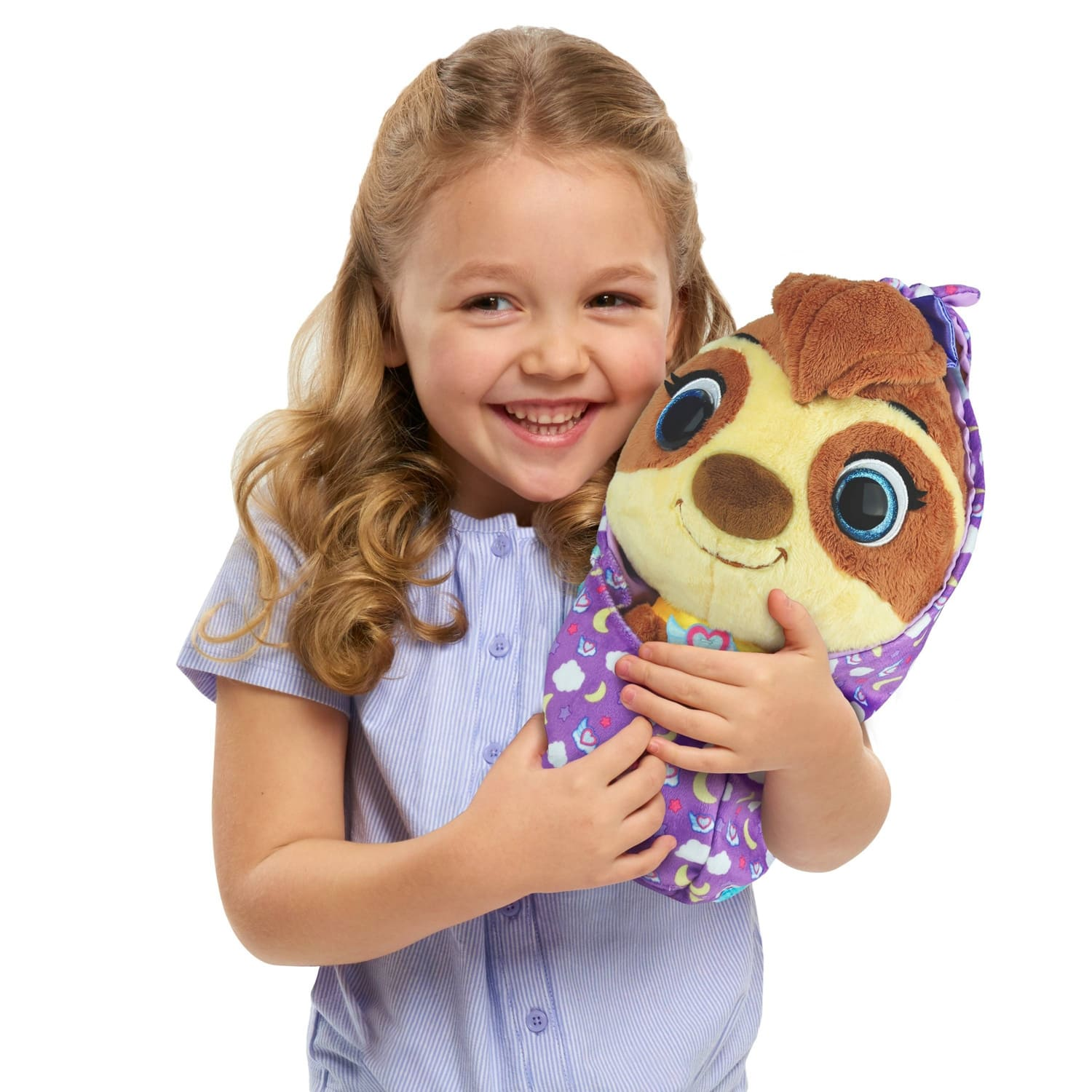 Disney T.O.T.S. Cuddle And Wrap Sunny the Sloth Plush $5.84 or Pearl the Piglet $6.49, FS with redcard or prime or $35+