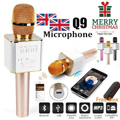 Pro Bluetooth Wireless Karaoke Microphone - $28.99