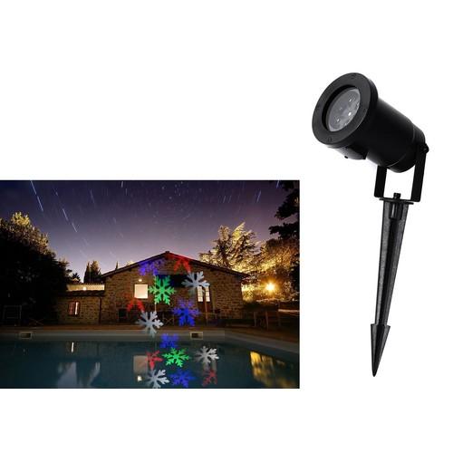 Christmas Projector Lights Multi-color Snowflake, LED Landscape Projector - $15.59 AC FS $15.56