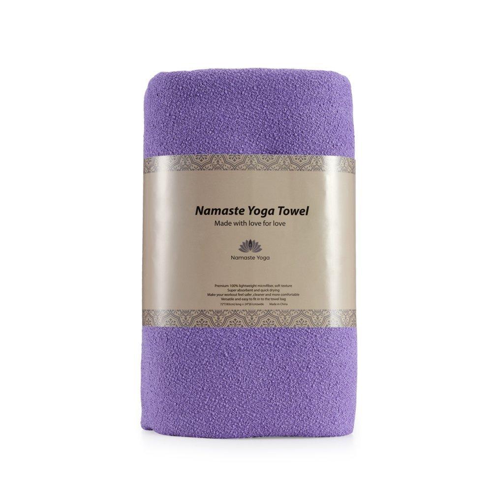 Christmas Gifts: Yoga Towel (Purple) $0.99 & LED String Lights $8.99 AC @ Amazon