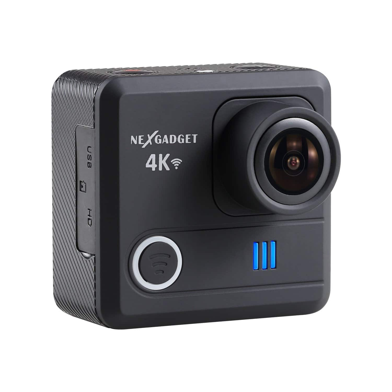 4K WIFI Action Camera 16MP 4K Waterproof Sports Camera 170° Wide-Angle Lens $30 AC FS w/Amazon Prime $30.09