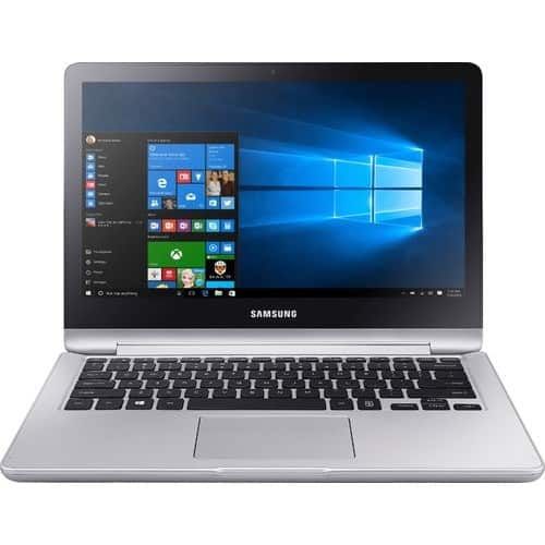 "Samsung - Notebook 7 Spin 2-in-1 13.3"" Touch-Screen Laptop - Intel Core i5 - 8GB Memory - 256GB Solid State Drive $600"