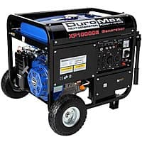 eBay Deal: DuroMax 10000 Watt Portable Gas Electric Start Generator with Wheel Kit and Electric Start $700 + Free Shipping