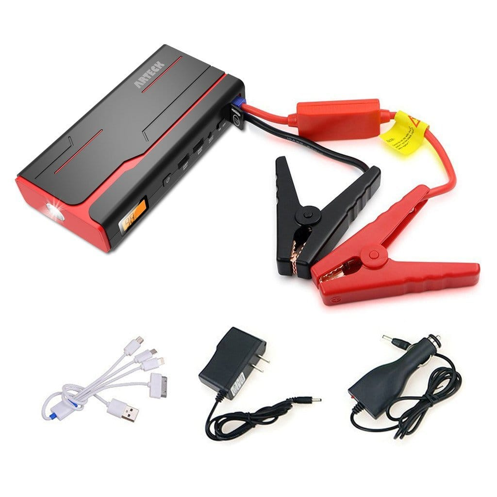 Arteck 600A Peak 12V Car Jump Starter (up to 7.0L, 18,000mAh) at Amazon $57.97