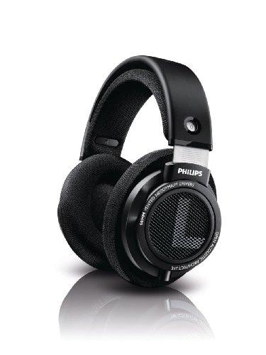 Philips SHP9500 HiFi Precision Stereo Over-Ear Headphones (Black) (Arrives in September) $49.99