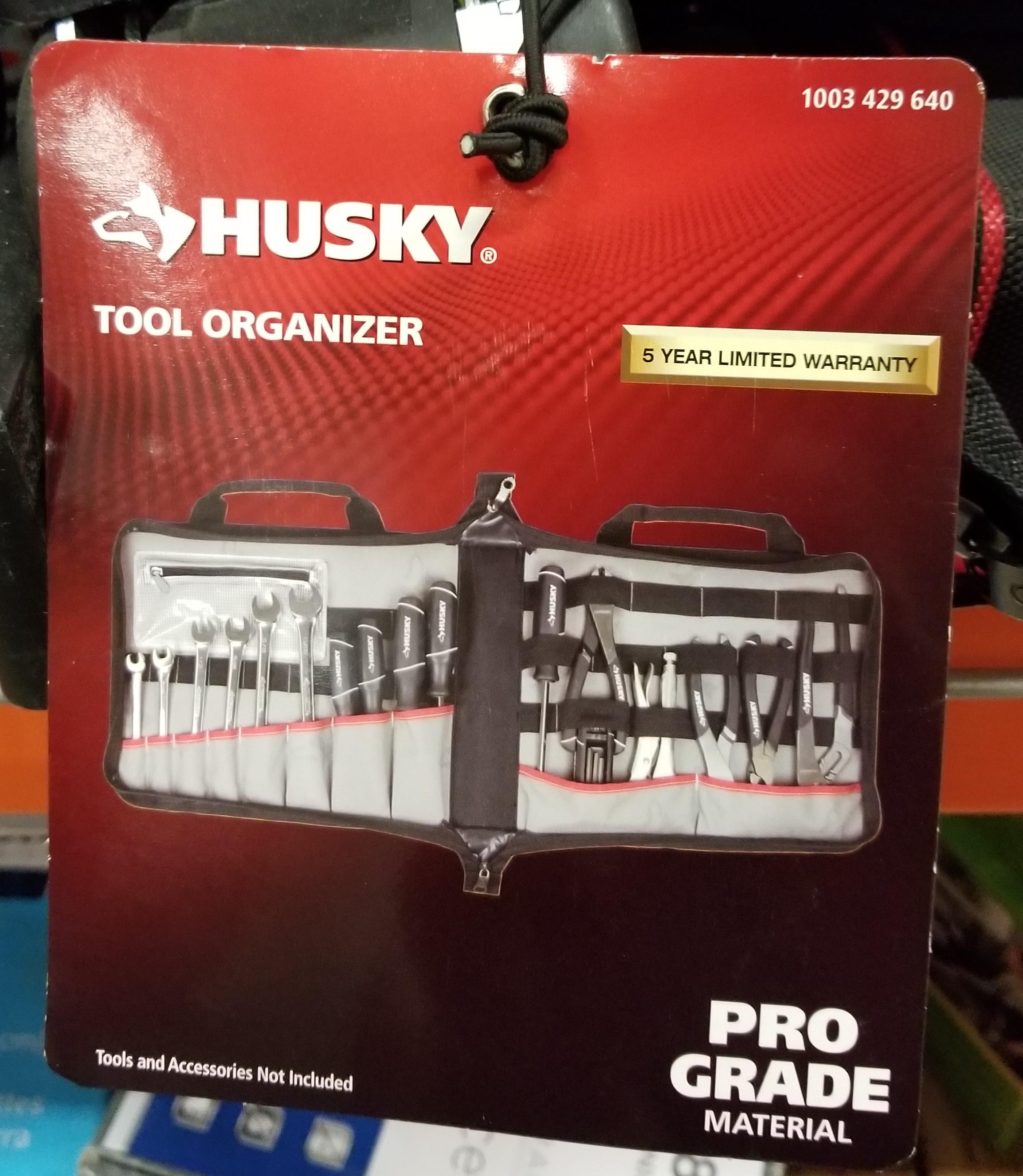 Home Depot Husky 15 in. Pro Tool Organizer $5.03 (YMMV)