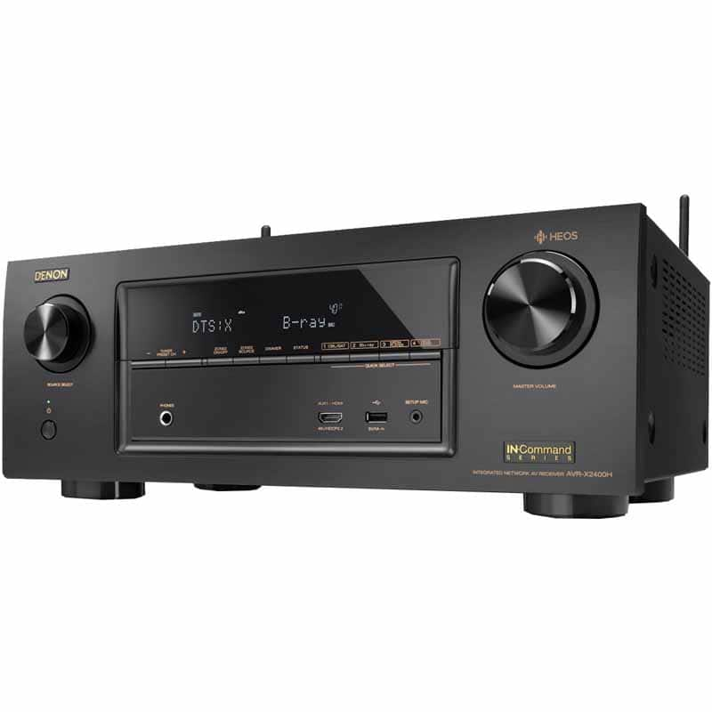 Denon AVR-X2400H 7.2-Channel AV Receiver *** Fry's in-store *** @400 after email promo