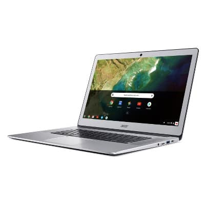 "Acer 15.6"" Full HD IPS Touchscreen Chromebook - Aluminum Silver (CB515-1HT-C2AE) $249.99"